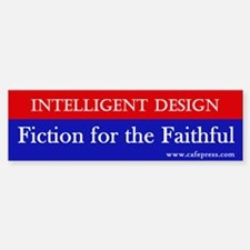 Fiction for the Faithful Bumper Bumper Bumper Sticker