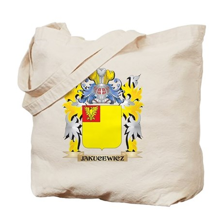 Jakucewicz Coat of Arms - Family Crest Tote Bag