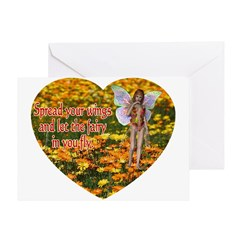 Fairy Flight Greeting Card