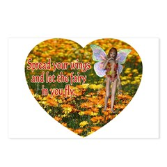 Fairy Flight Postcards (Package of 8)