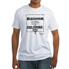 Buddhism Delivers (large) Shirt
