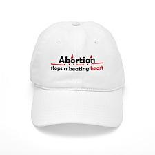 Abortion stops heart Baseball Cap
