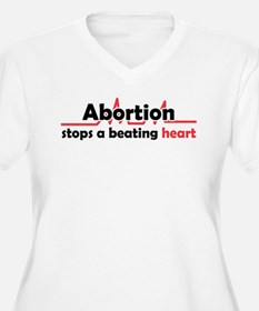 Abortion stops he T-Shirt
