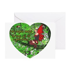 Fairy Laughter Greeting Card