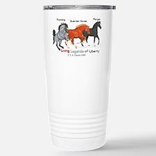 Liberty Legend Horse Stainless Steel Travel Mug