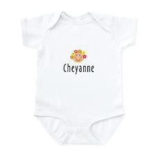 Cheyanne - Flower Girl Infant Bodysuit