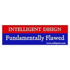 Fundamentally Flawed Bumper Bumper Sticker
