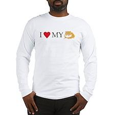 I Love My Hamster Long Sleeve T-Shirt