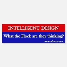 What the Flock? Bumper Bumper Bumper Sticker