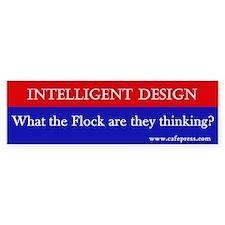 What the Flock? Bumper Bumper Sticker