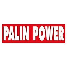 PALIN POWER Bumper Bumper Sticker
