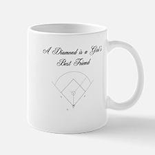 Baseball Diamond Girl Mug