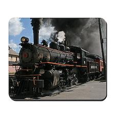 Steam Locomotive Mousepad