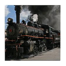 Steam Locomotive Tile Coaster