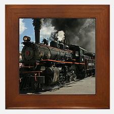 Steam Locomotive Framed Tile