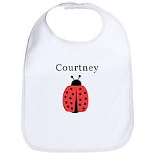 Courtney - Ladybug Bib