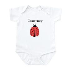 Courtney - Ladybug Infant Bodysuit