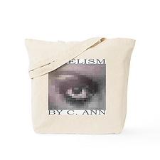 PIXELISM Betty Davis' Eyes Tote Bag by C. Ann