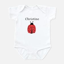 Christine - Ladybug Infant Bodysuit