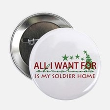 "All I want for Christmas 2.25"" Button"