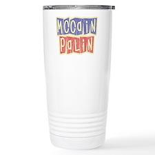 McCain Palin Retro Logo Travel Mug