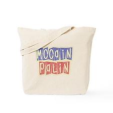 McCain Palin Retro Logo Tote Bag