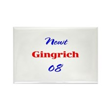 Newt Gingrich, 08, Rectangle Magnet-2
