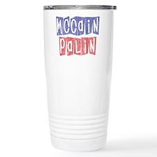 McCain Palin Retro Logo (2) Travel Mug