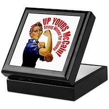 Up Yours McCain! Keepsake Box