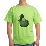 English Trumpeter Blue Green T-Shirt