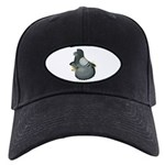 English Trumpeter Blue Black Cap