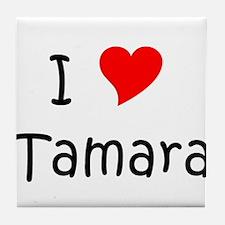 Unique Tamara Tile Coaster