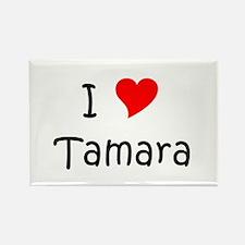 Unique Tamara Rectangle Magnet