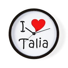 Cute Talia Wall Clock