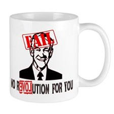 Ron Paul = FAIL Mug