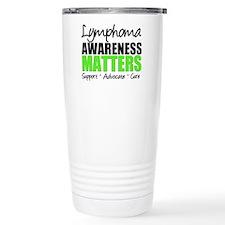 Lymphoma Matters Travel Mug