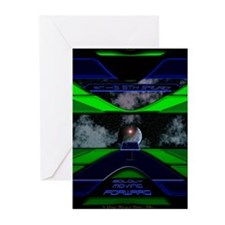 Boldly Moving Forward Greeting Cards (Pk of 10