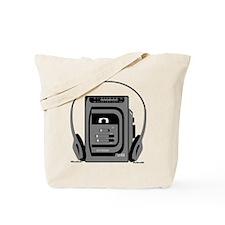 Vintage Tape Player Tote Bag