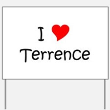 Cool Terrence Yard Sign