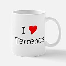Cute I heart terrence Mug