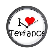 Funny Terrance name Wall Clock