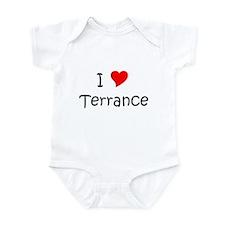 Terrance name Infant Bodysuit