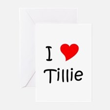 Funny Tillie Greeting Cards (Pk of 10)