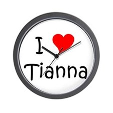 Tianna Wall Clock