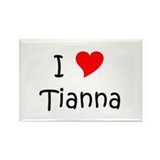 Cool Tianna Rectangle Magnet