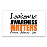 Lymphoma Matters Rectangle Sticker 10 pk)
