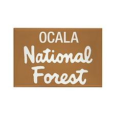 Ocala National Forest (Sign) Rectangle Magnet