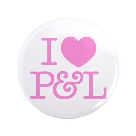 """I Heart P&L 3.5"""" Button"""