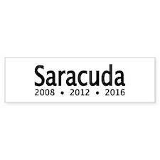 SARACUDA Bumper Bumper Sticker