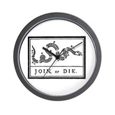 Join or Die Anti Obama Wall Clock